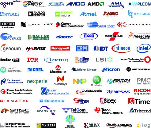 获得70多家行业领先半导体制造商的100%授权
