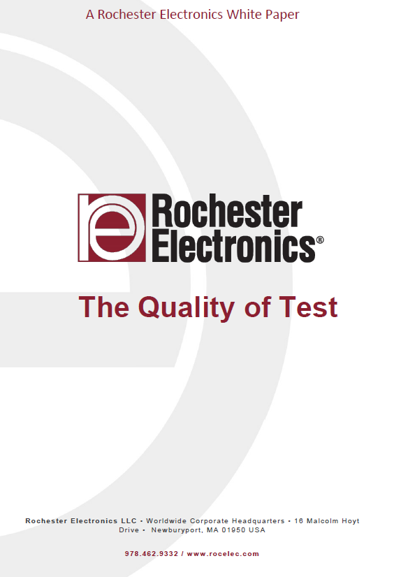 Quality of Test  - Whitepaper